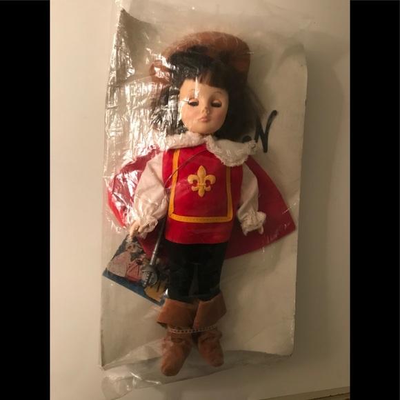 "Effanbee 11' Doll ""Musketeer"" new in packaging"